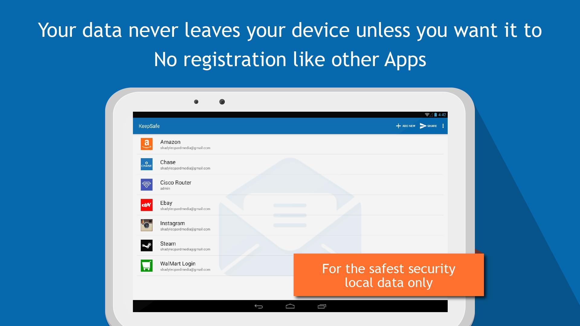 KeepSafe - Password Manager for Android - APK Download