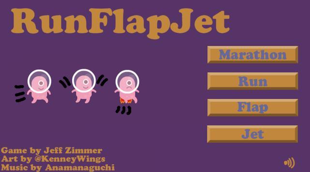 Run Flap Jet poster