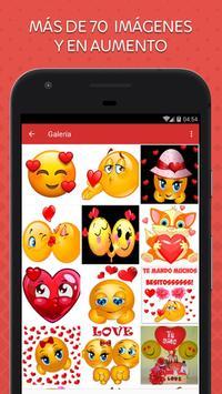 Emoticones de Amor poster