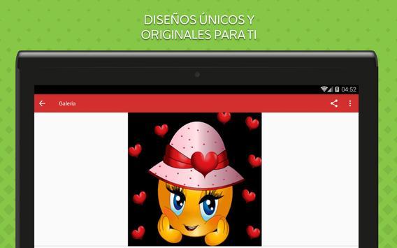Emoticones de Amor screenshot 10