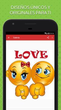 Emoticones de Amor screenshot 1