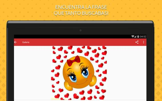 Emoticones de Amor screenshot 7