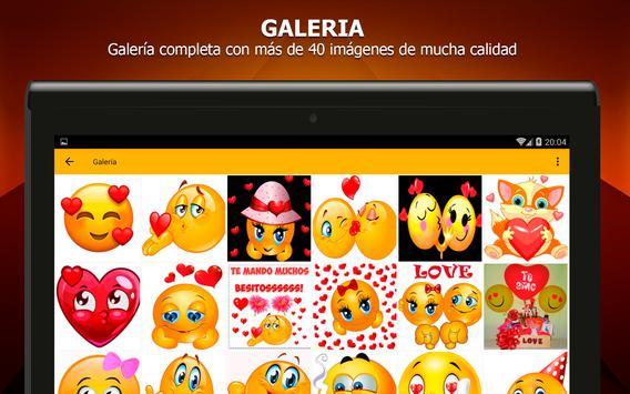 Emoticones de amor screenshot 9