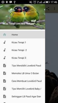 Kicau Terapi Love Bird Terbaru poster