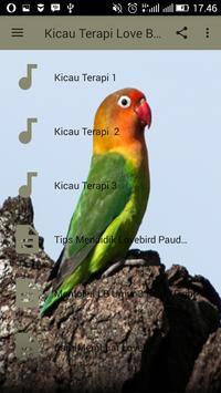 Kicau Terapi Love Bird Terbaru screenshot 1