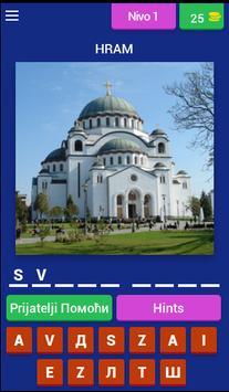 Kviz moja Srbija poster