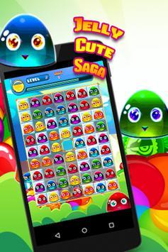 Jelly Cute Saga poster