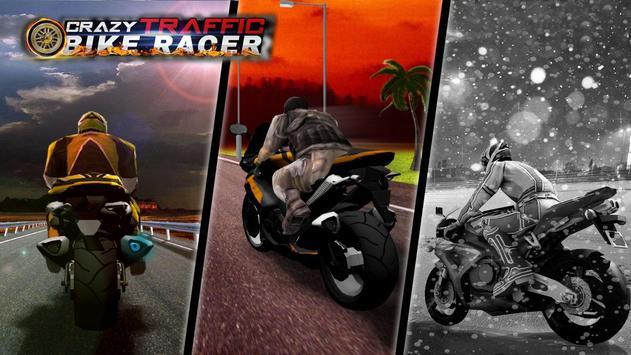 Crazy Traffic Bike Racer poster