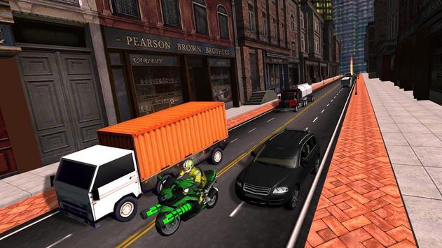 Traffic Bike Death Racer poster