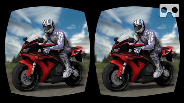 VR Crazy Traffic Bike Racer apk screenshot