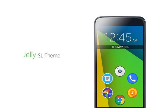 Jelly SL Theme apk screenshot