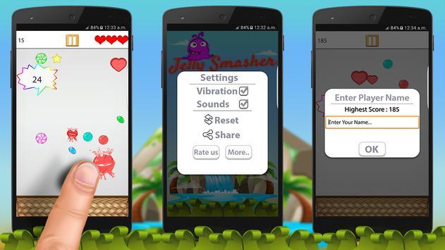 Jelly Smasher 2D screenshot 1