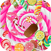 Candy Live Wallpaper icon
