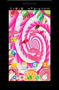 Candy Live Wallpaper poster