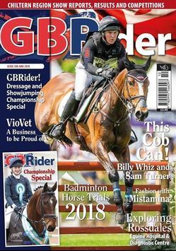 GB Rider Magazine poster