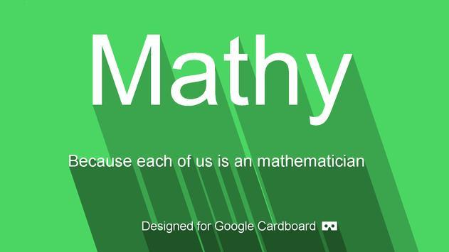 Mathy poster