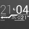 Lines Clock Free - UCCW Skin biểu tượng