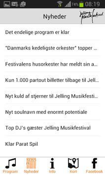 Jelling Musikfestival screenshot 1
