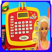 Cashier Machine Toy icon