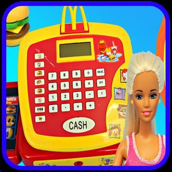 Cashier Machine Toy poster