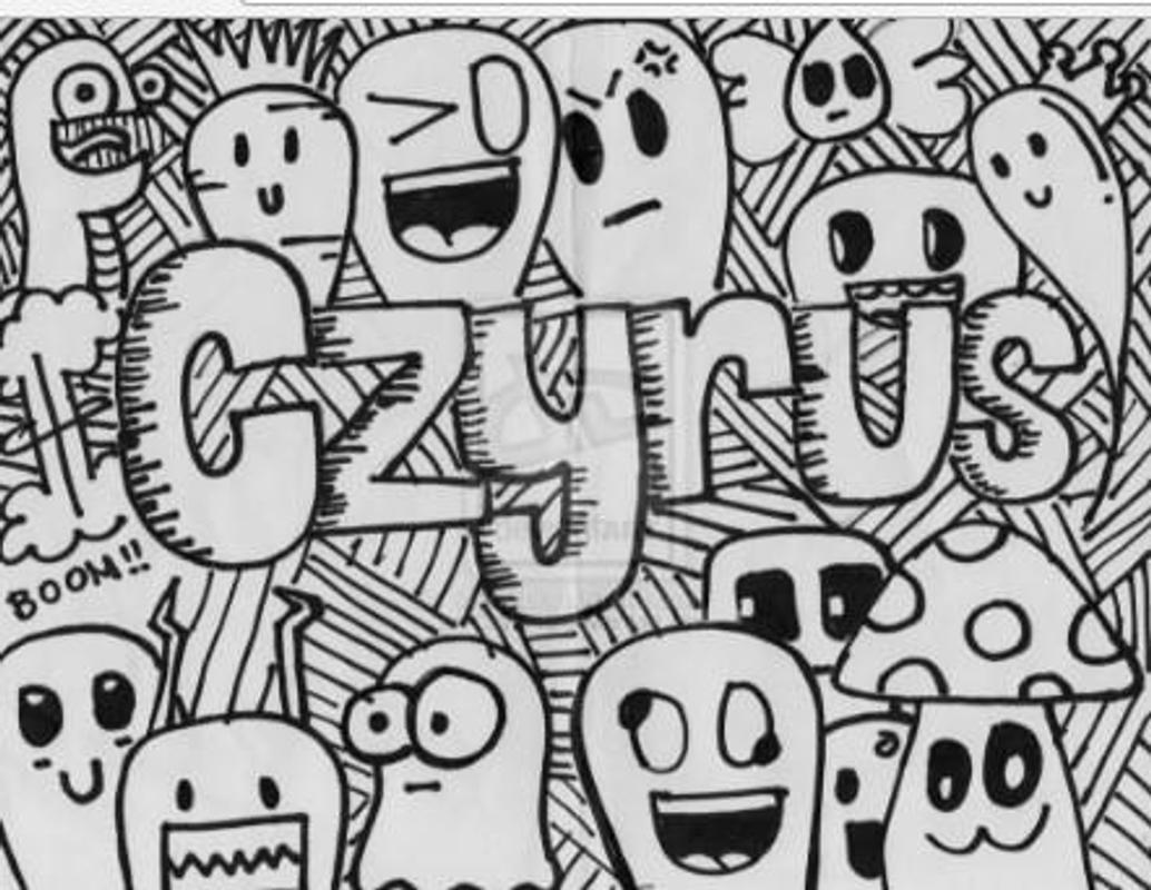 Cool doodle art name drawing screenshot 18