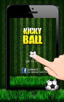 Kicky Ball apk screenshot