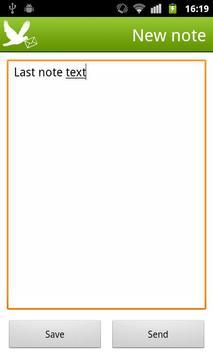 MemoMail apk screenshot