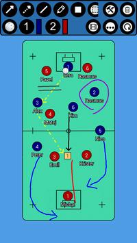 Floorball Tactic Board poster