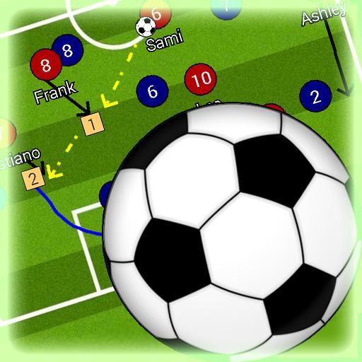 Football Tactic Boad, una de las mejores pizarras tácticas para entrenadores de fútbol.
