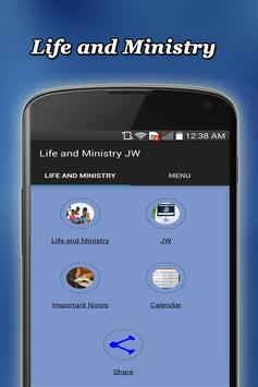 Life and Ministry poster