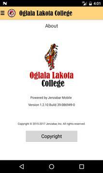 OLC mobile screenshot 2