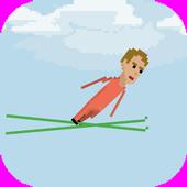 Pixel Ski Jump icon