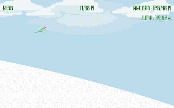 Pixel Ski Jump apk screenshot