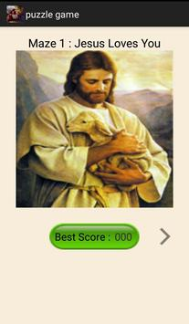 Jesus Loves You Puzzle apk screenshot