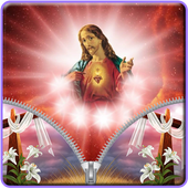 Jesus Zipper Lock icon