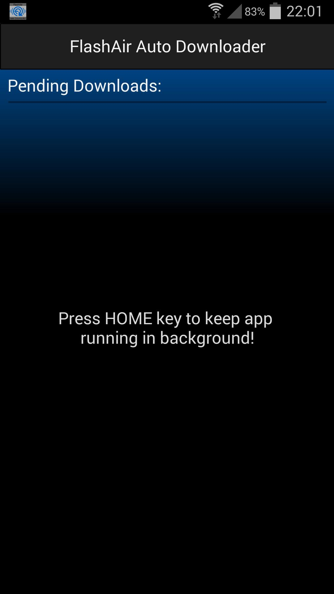 FlashAir Auto Downloader TRAIL for Android - APK Download