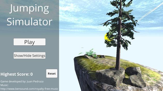 Jumping Simulator poster