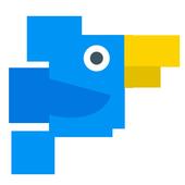 Голубая птичка icon