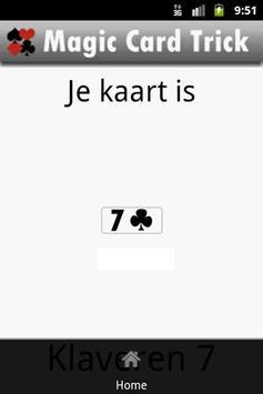 Magic Card Trick apk screenshot