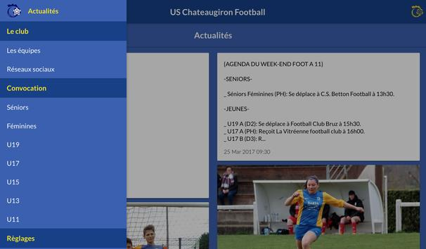 US Chateaugiron Football screenshot 5