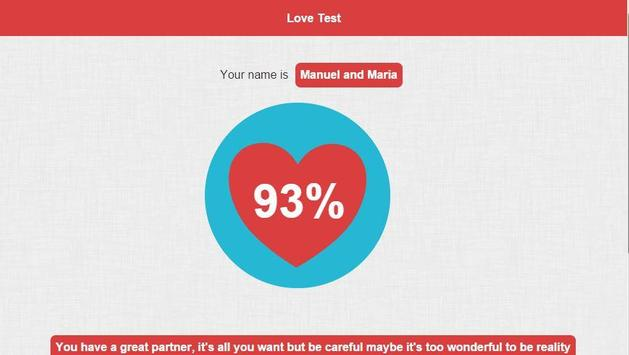 Love Test screenshot 5