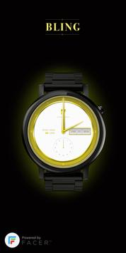 Facer Bling watch face by Wutr poster