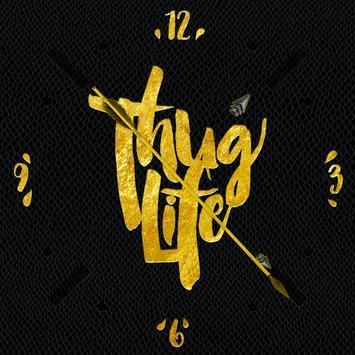 Thug Life watch face by Wutron apk screenshot