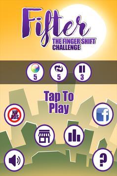 Fifter-Finger Shift Challenge poster