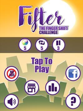 Fifter-Finger Shift Challenge apk screenshot