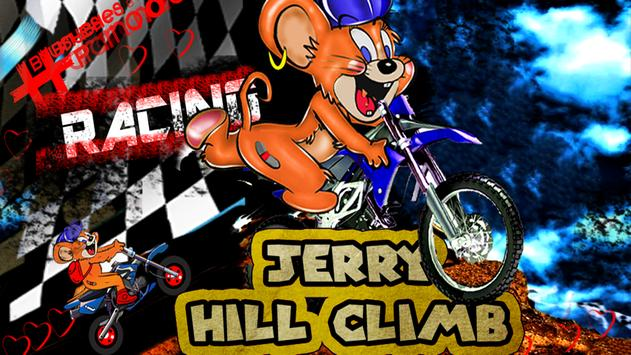 Jerry Mouse Motorcycle Race poster