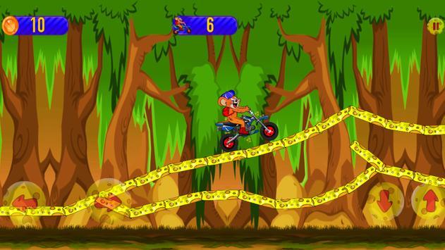 Jerry Mouse Motorcycle Race apk screenshot