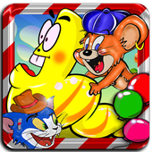 Crazy Larva and Jerry Mouse icon