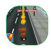 Souris jerry subway surf running 2018 icon