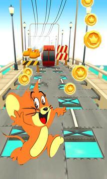 Tom with Jerry Subway apk screenshot